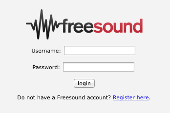 Authentication — Freesound API documentation